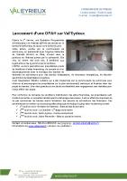 Lancement OPAH Val'Eyrieux